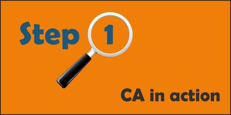 ca101 step 1 Transcribe