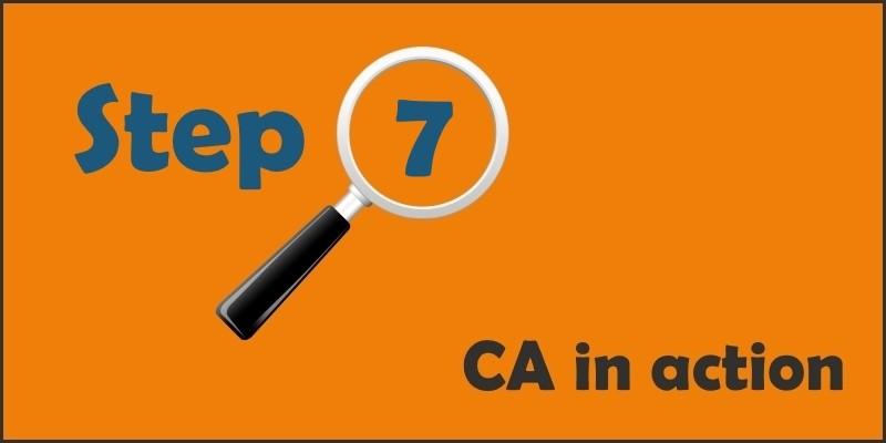 ca101 step 7 Generate Theory