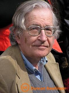 Noam Chomsky cc Duncan Rawlinson