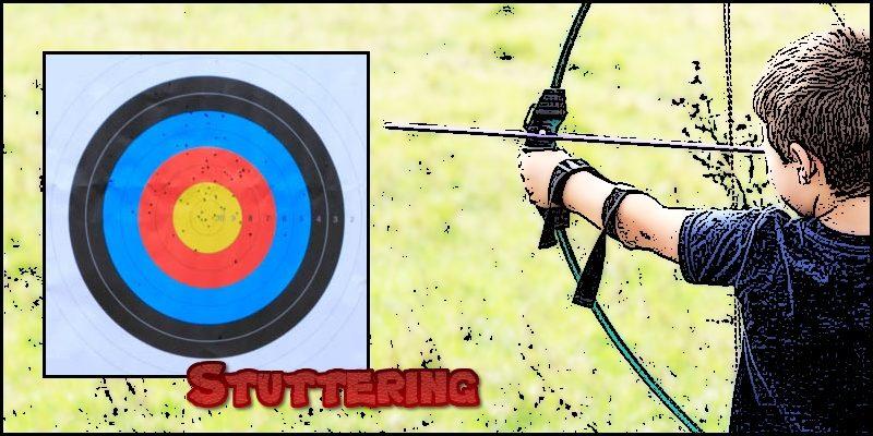 goal setting form stuttering header
