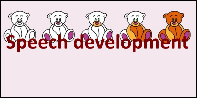 speech development header