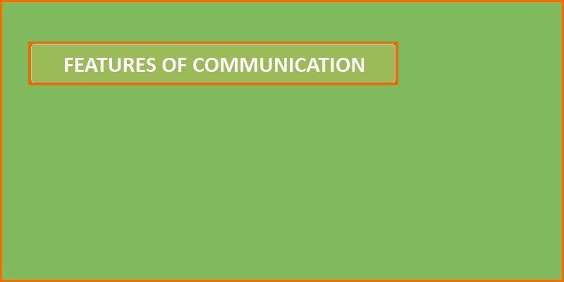 features of communication header