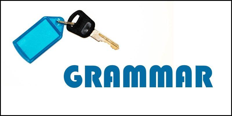 grammar header