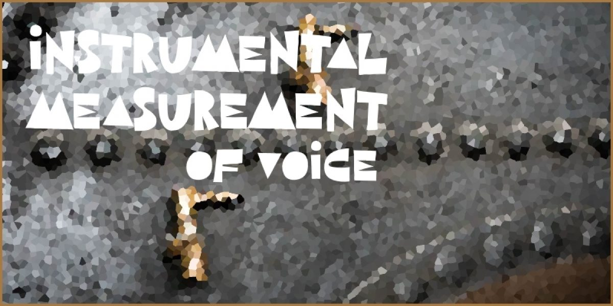 Instrumental Measurement of Voice