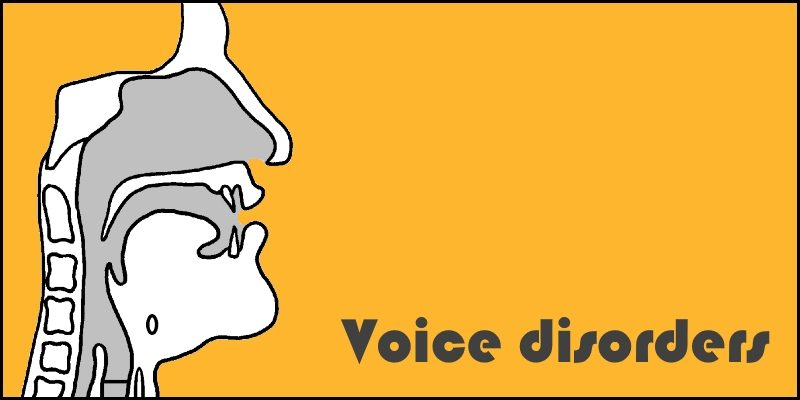 voice disorders header