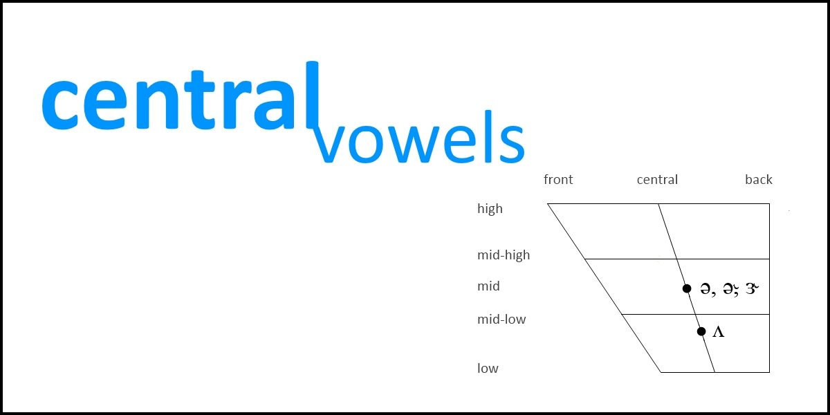 Central Vowels Slt Info