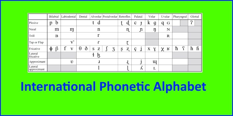 ess101 international phonetic alphabet header