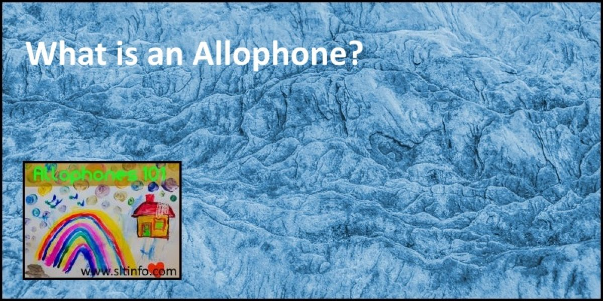 What is an Allophone?