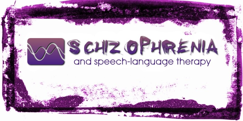 can speech-language therapy help people with schizophrenia