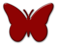 butterfly red 1