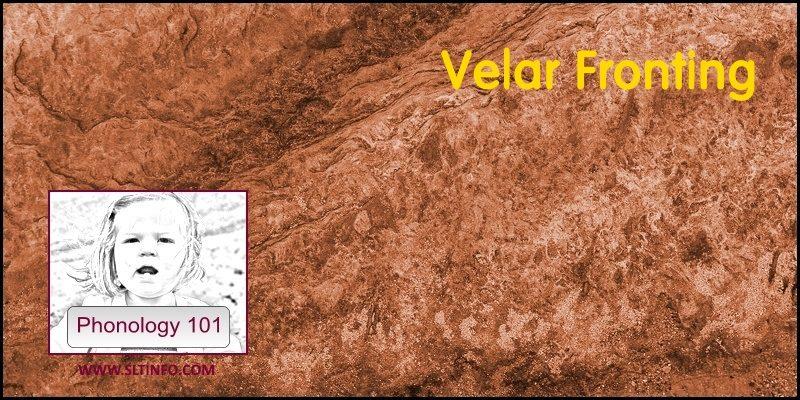 2B Velar Fronting