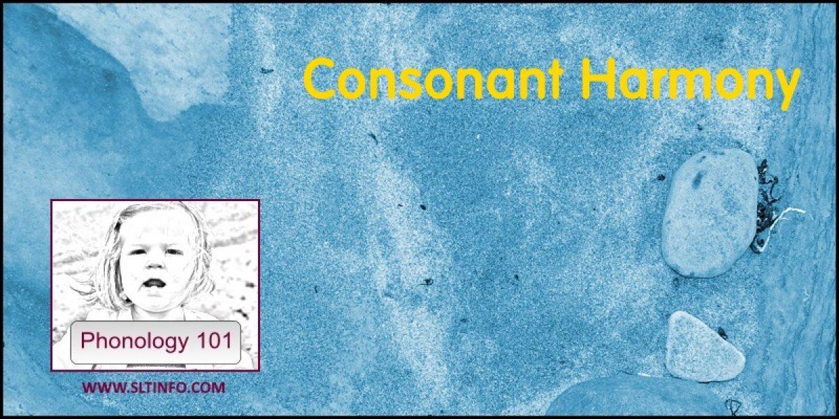 Consonant Harmony