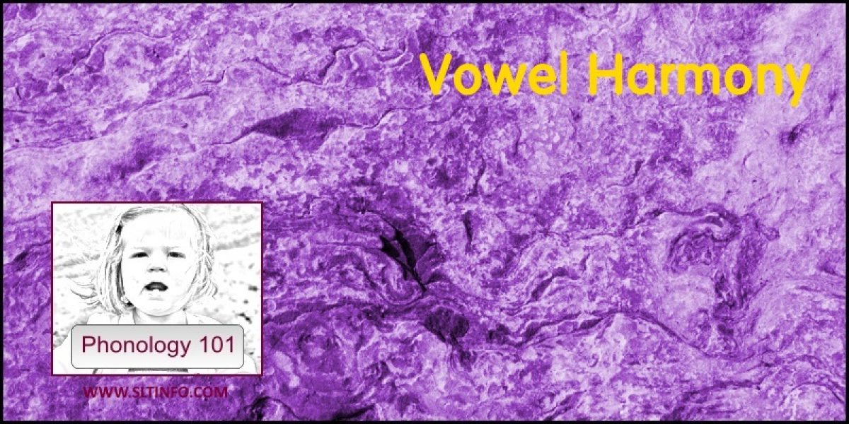 Vowel Harmony