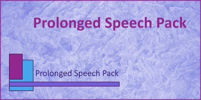 prolonged speech pack