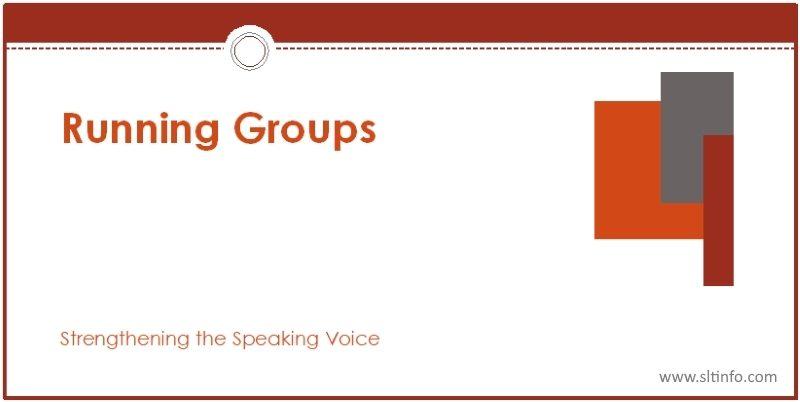 ssv running groups