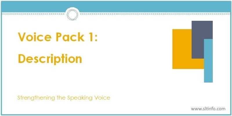 ssv voice pack 1 description