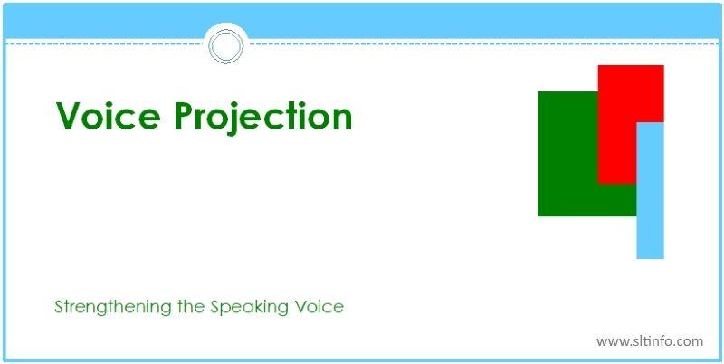 ssv voice projection